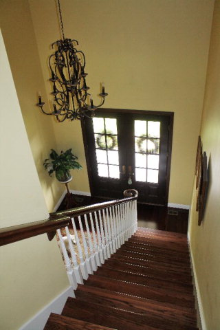 2 story foyer view